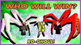 [CODE!] PKKen1 Vs PKKen1| WHO WILL WIN? in Ro-Ghoul | Roblox