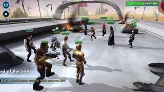 SWGOH Rebels LOSE VS All G13 Sith Empire