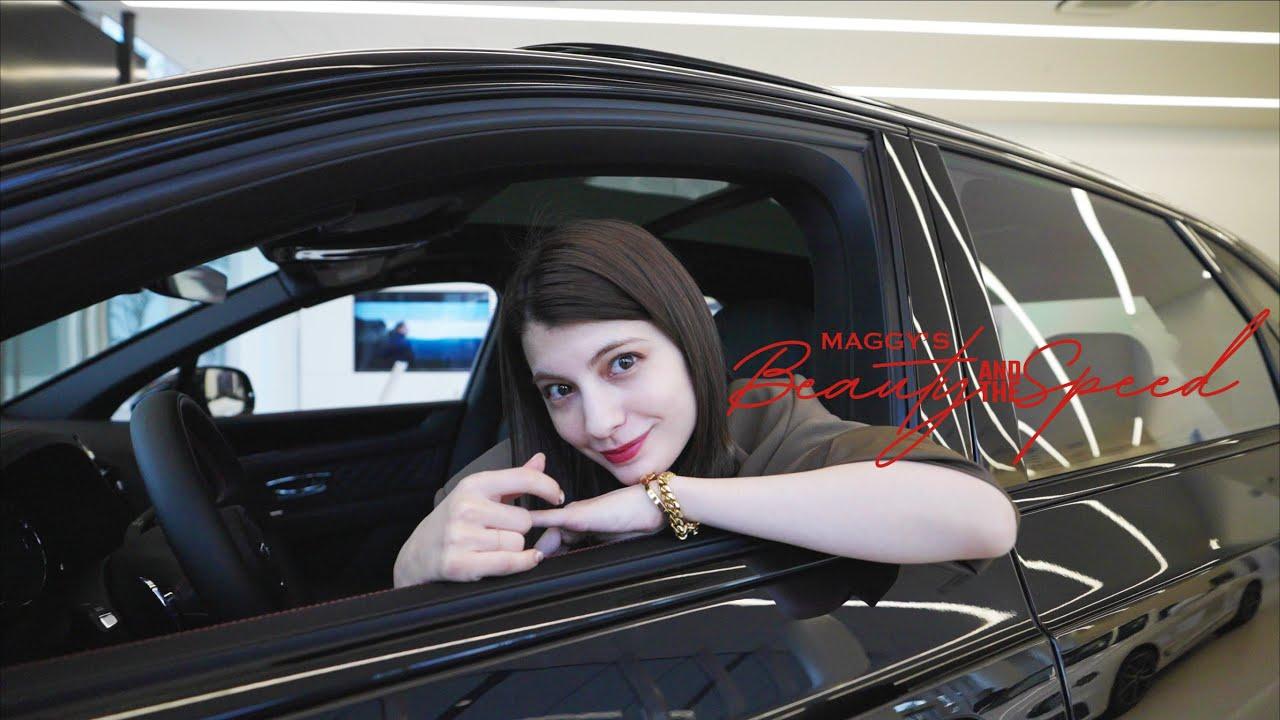 【マギー×新型ベンテイガV8(Part1/2)】セクシーでワイルドなエクステリアは必見!エンブレムの秘密も教えます♪