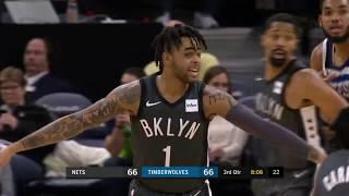 Brooklyn Nets vs Minnesota Timberwolves | November 12, 2018