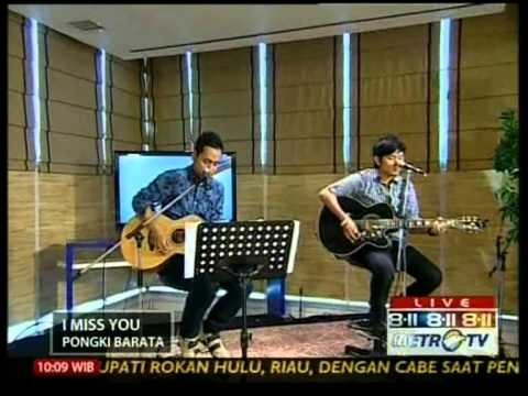 Pongki Barata live performed at 8-11 Show Chapter 2 (Courtesy MetroTV)