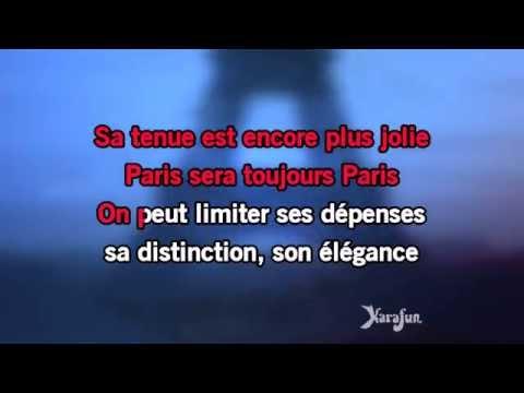 Karaoké Paris sera toujours Paris - Zaz *