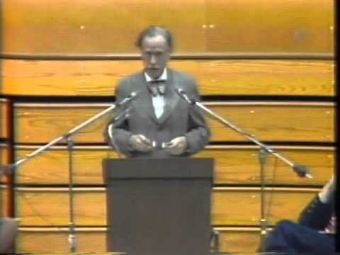 Marshall McLuhan 1974 - Full lecture Living in an Acoustic World | University of South Florida