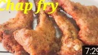 Mutton Chap fry recipe/how fry the mutton chap / Eid special/English subtitle