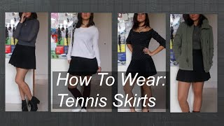 AMERICAN APPAREL TENNIS SKIRT : How To Wear │ Psyc
