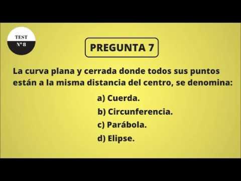 TEST DE CULTURA GENERAL 8 (NIVEL BÁSICO)