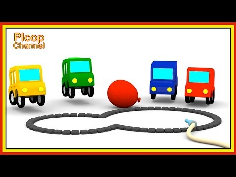 Thumbnail: Cartoon Cars - Where are the FLOWERS? - Cartoons for Children - Childrens Animation Videos for kids