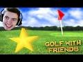 JOGANDO GOLF com ESTRELA!!! - Golf With Friends