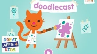 Sago Mini Doodlecast | Drawing App for Kids