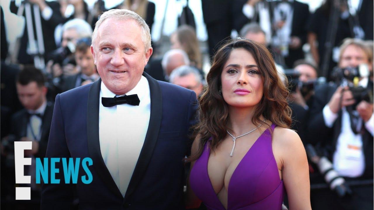 Salma Hayek's Billionaire Husband Pledges to Help Rebuild Notre-Dame