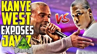 kanye west exposes jay z calls for a new world order