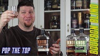 Pop-The-Top Knob Creek Twice Barreled Rye Bourbon BLIND Review