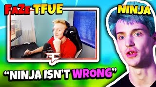 FaZe TFUE REACTS TO NINJA ACCUSING HIM OF EXPLOITING GLITCHES | Fortnite Daily Funny Moments Ep.114