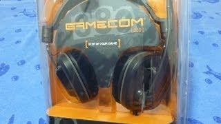 гарнитура Plantronics Gamecom 380 Unpuck Unboxing