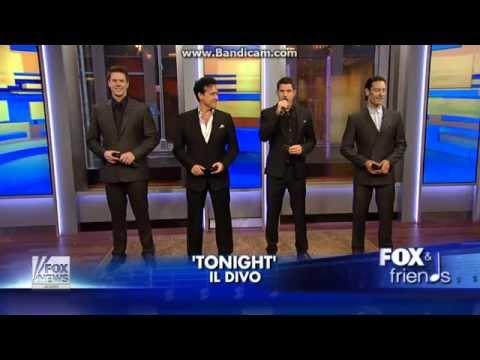 """IL DIVO """"Tonight"""" 1-11-2013"""