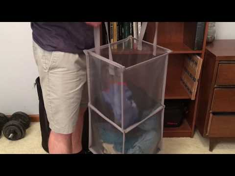 The Twist Flat Collapsible Hamper