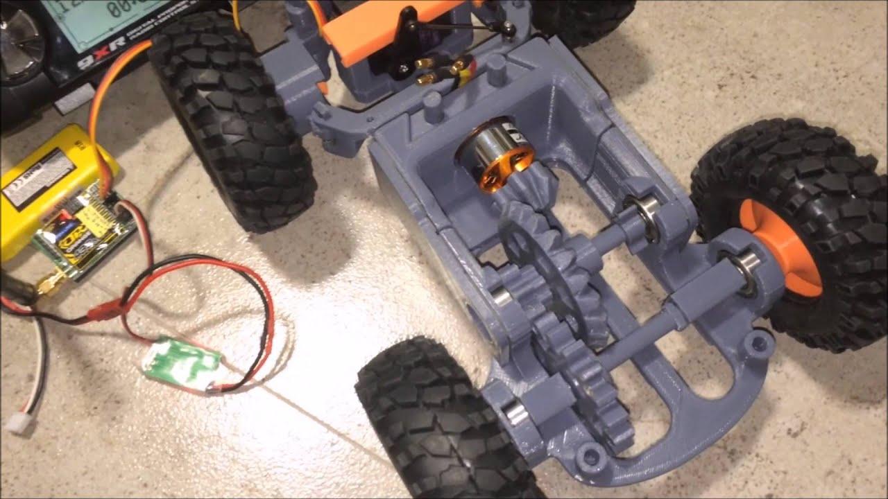3D Printed RC Car