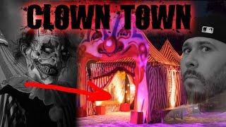 HAUNTED CLOWN AMUSEMENT PARK AT 3AM (CLOWN TOWN) | OmarGoshTV