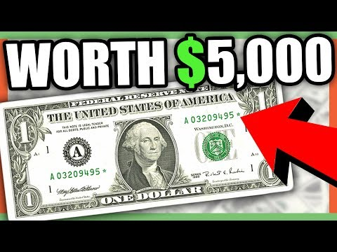 RARE MONEY TO LOOK FOR - BANK NOTE CURRENCY DOLLAR BILLS WORTH MONEY!!!