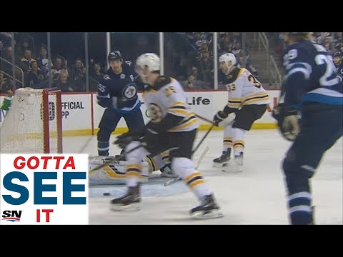 GOTTA SEE IT: Mark Scheifele Scores After Zdeno Chara Launches His Hockey Stick Into The Rafters