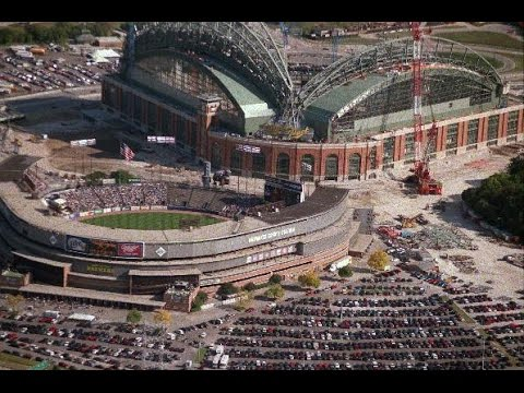 "4-10-2000 Milwaukee County Stadium-Final Home Opener-Milwaukee ""Brewers"" vs Florida ""Marlins"""