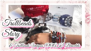 Part3: Trollbeads Story - Everything you need to know on trollbeads Uniques & Leather Bracelet
