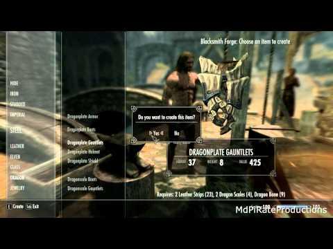 Skyrim: How To Make Dragon Armor
