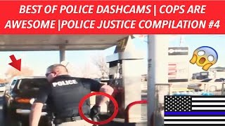 👮🏼🚔 BEST OF POLICE DASHCAMS | COPS ARE AWESOME | POLICE JUSTICE COMPILATION #4