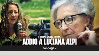 Funerali mamma Ilaria Alpi, istituzioni assenti alle esequie di Luciana