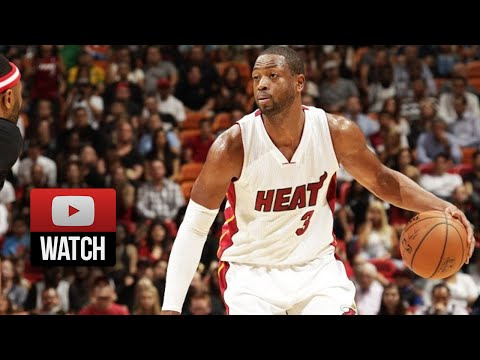 Dwyane Wade Full Highlights vs Wolves (2014.11.08) - 25 Pts, 8 Ast, Schools Wiggins!