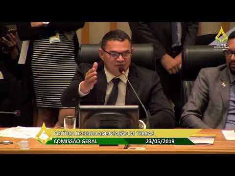 Comissão Geral - Política de Regulamentação de Terras - 23/05/2019