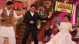 comedy nights with kapil 6th december 2014 episode   shahrukh khan kajol celebrate ddlj 1000weeks