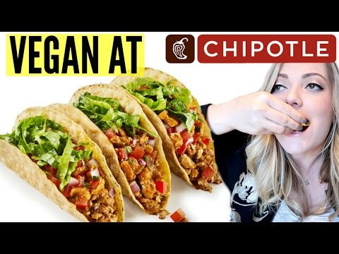 VEGAN at CHIPOTLE! Best Vegan Fast Food Options!