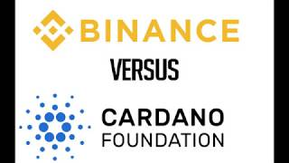 Cardano coin ADA on Binance exchange
