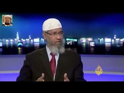 Zakir naik al jazeera interview clip london gambia