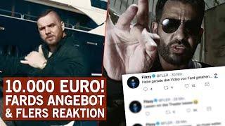 Fler reagiert auf das 10.000 Euro Gegenangebot von Fard!