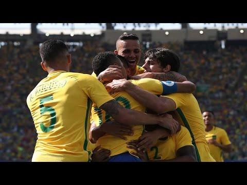 Con Neymar a la cabeza, Brasil aplastó a Honduras y es finalista olímpico