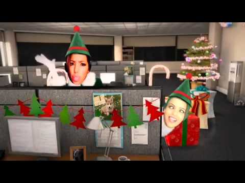 Elf Yourself: Melanie Iglesias & Lisa Ramos Edition