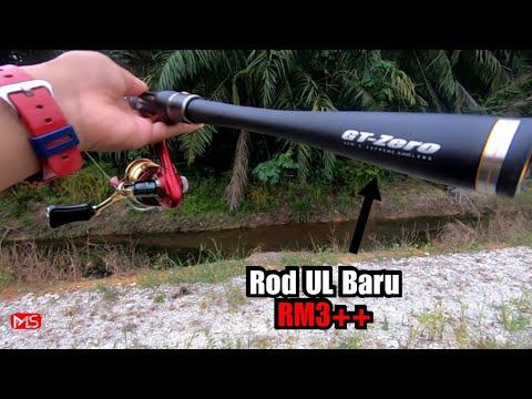 Rod UL Baru Rm3++ || Casting Ikan Haruan Or Snakehead Fishing/Ikan Gabus
