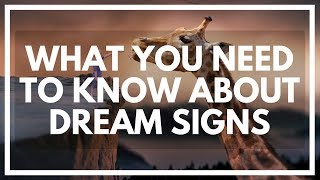 What Are Dream SIGNS? Dream Symbols, Meanings, And HOW It Works