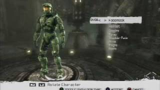 Unreal Tournament III PS3 Character Mods, with Master Chief