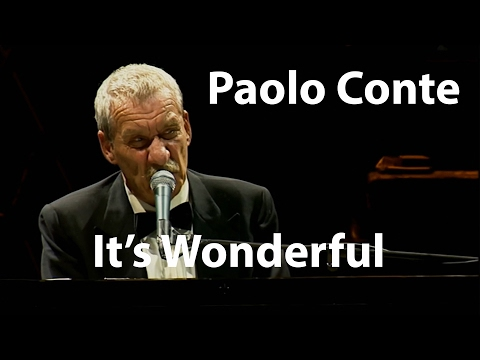 Paolo Conte  Via Con Me Its Wonderful Restored
