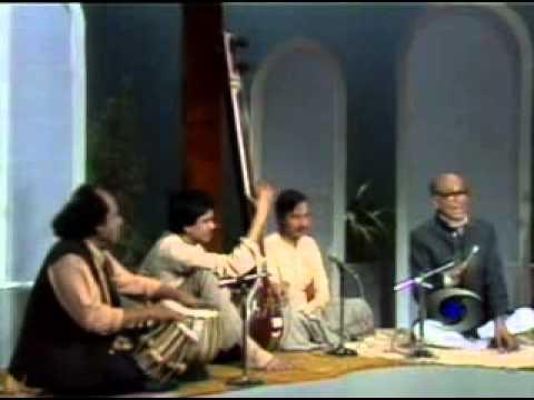 Mallikarjun Mansur-Faiyyaz Khan- Jhan jhan jhan Payal mori Baaje-raga Nat Bihaag