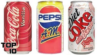 Top 10 Discontinued Sodas We All Miss - Part 3