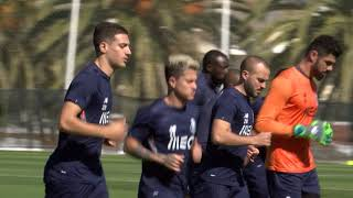 Futebol: Plantel voltou aos treinos em Lagos (22/02/18)