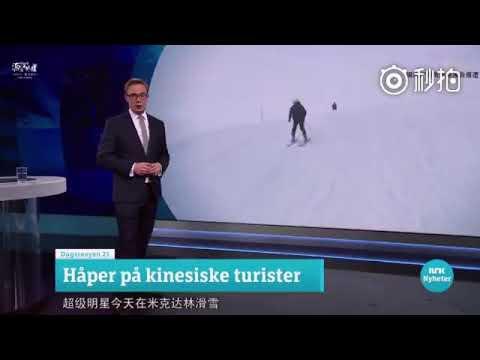 Vương Nguyên được lên Đài truyền hình ở Na Uy