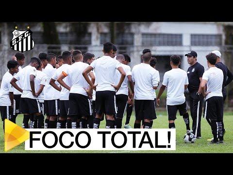 Sub-15 treina forte para a semifinal do Paulistão