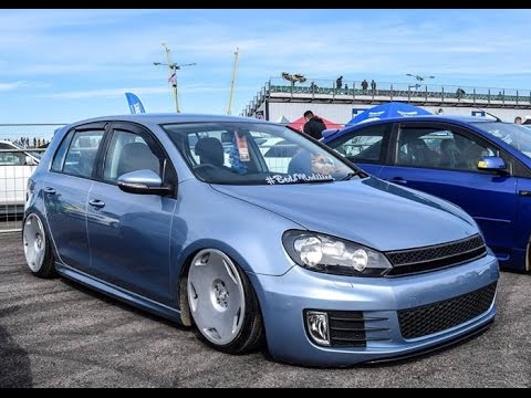 Bagged Volkswagen Golf Mk6 Beds Mods Slammed