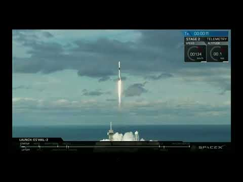 Associated Press: SpaceX launches Qatari communications satellite