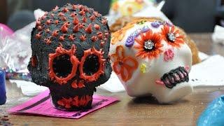 Halloween sugar skulls recipe